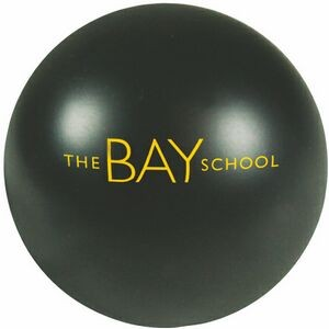 Black Stress Reliever Ball