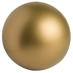 Gold Squeezies® Stress Reliever Ball