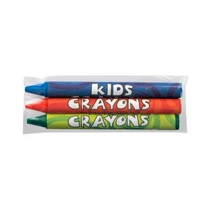 3 Pack Cello Wrapped Crayons
